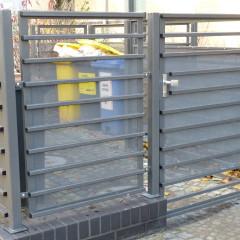Müllplatzeinhausung